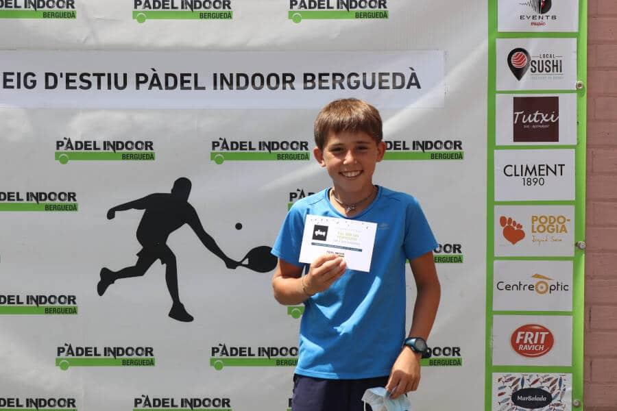 Premis Torneig Padel Indoor Berguedà