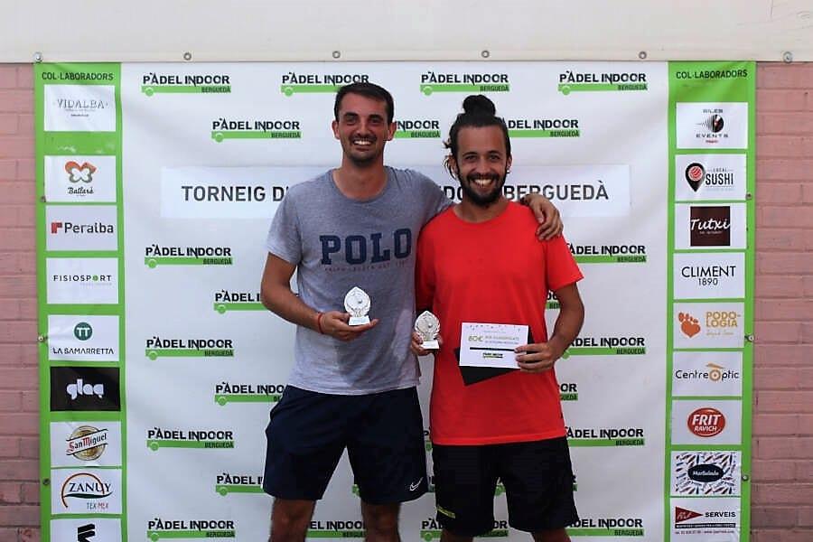 Premis Torneig Pàdel Indoor Berguedà
